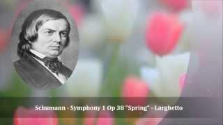 Schumann - Symphony 1 Op 38 Spring - Larghetto