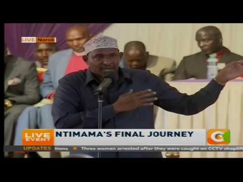 Duale's speech at Ntimama funeral
