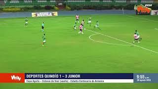 Quindío vs Junior - Copa Aguila - Octavos Vuelta (1-3)