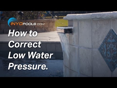 How To: Correct Low Water Pressure