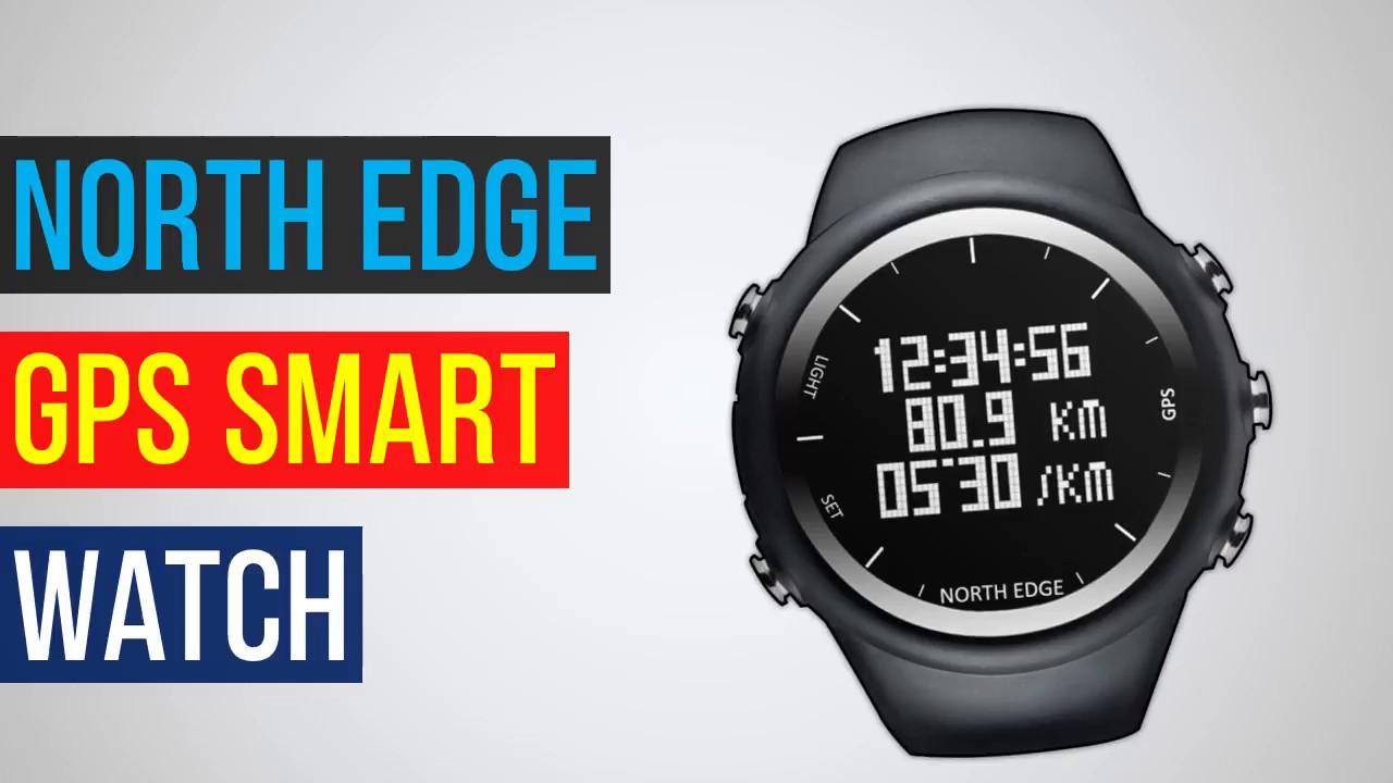 Northedge цифровые часы мужчины youtube