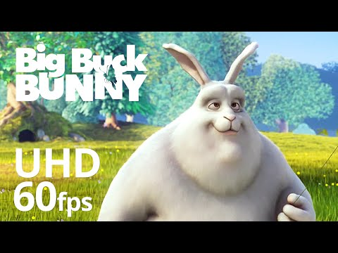 Big Buck Bunny 60fps 4K - Official Blender Foundation Short Film