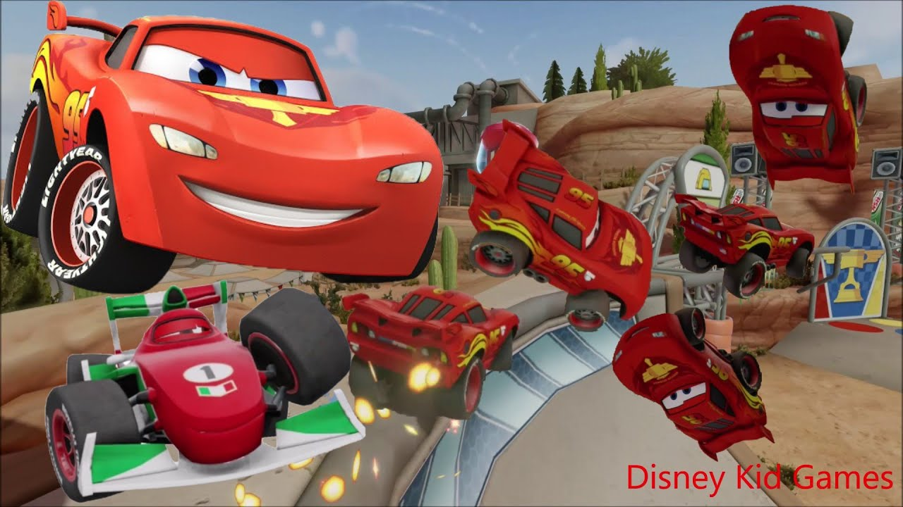 Disney Infinity Lightning McQueen 5 - Skate Park Stunts