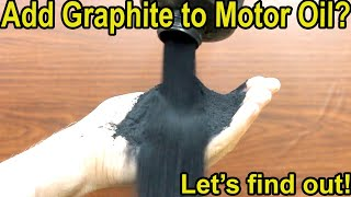 "Will ""Graphite"" Help Motor Oil Performance? Let's find out! Vintage Arco Graphite vs Quaker State"