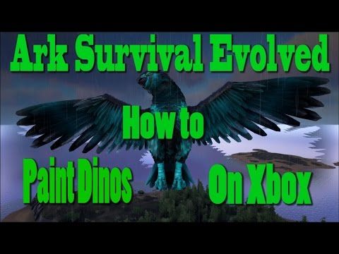 ARK: Survival Evolved - How to paint dinos on Xbox/Ps4