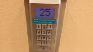 Schindler Miconic 10 Traction Elevators @ Aston Waikiki Beach Hotel, Honolulu, HI