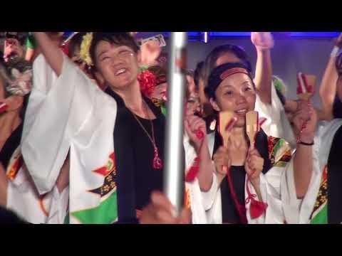 速報まるがめ婆娑羅まつり2017ミモカ会場ファイナルステージ総乱舞
