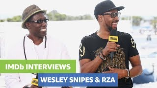 Wesley Snipes and RZA Talk About Upcoming Film 'Cut Throat City'