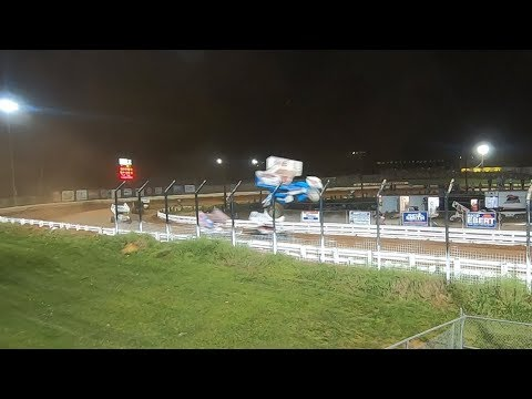 Williams Grove 05/31/19 Chase Dietz Front Stretch Flip