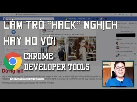 """Những trò """"hack"""" nghịch hay ho bá đạo mà bạn có thể làm với Chrome Developer Tools"""