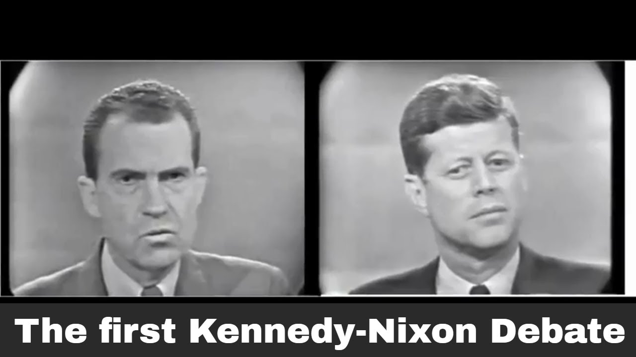 Image result for kennedy nixon debate you tube