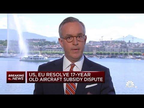 U.S. and EU resolve 17-year Boeing-Airbus dispute