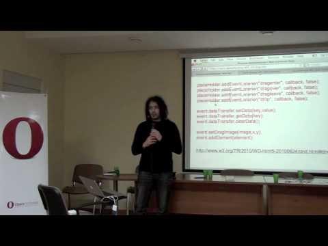 Обзор новых API JavaScript. HTML5 и самостоятельные черновики W3C