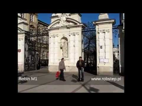 Robin at the University of Warsaw- Poland Video Series 8