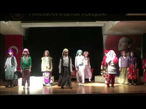 Beylikduzu Amerikan Kültür Koleji 4B Sınıfı Yıl Sonu Portfolyo Gösterisi