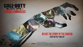 BLACK OPS 3 ZOMBIES CHRONICLES - NEW TRAILERS, ACHIEVEMENTS, MAP FEATURES & MORE! #DLC5 #HYPE
