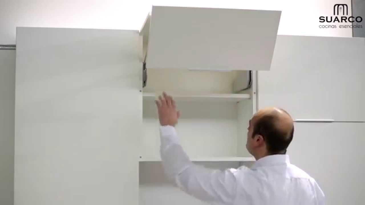 Video de las aperturas de los muebles de cocina youtube for Muebles de cocina suarco