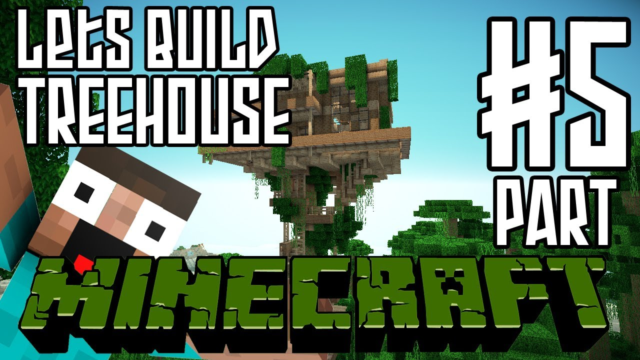 Minecraft Lets Build HD: Jungle Treehouse - Part 5 - Keralis