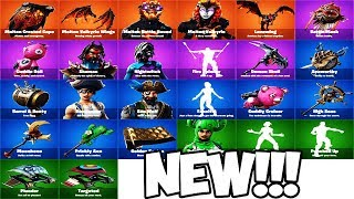 ALL OUTFITS & COSMETICS coming to Fortnite Battle Royale! All Skins & Cosmetics Showcase 2019