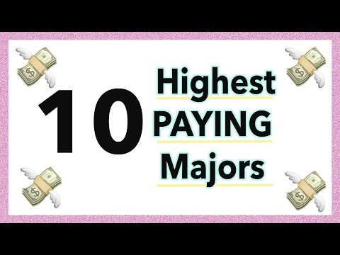 10 Highest Paying Majors