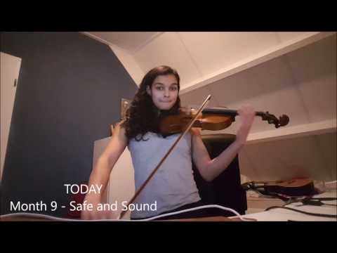 First 9 months violin! Self-taught Versie 1