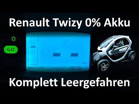 Was Passiert, Wenn Man Den Renault Twizy Komplett Leer Fährt? Ich Habe Es Für Euch Getestet!