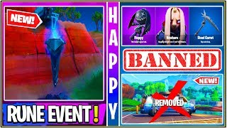 *NEW* Fortnite: Rune Event Right now! 1,000 Hackers Banned, Nitehare Skin, & Respawn Disabled!