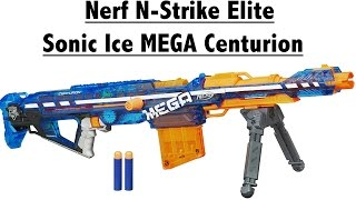 NERF N-Strike Elite Sonic Ice Centurion Unboxing and Review