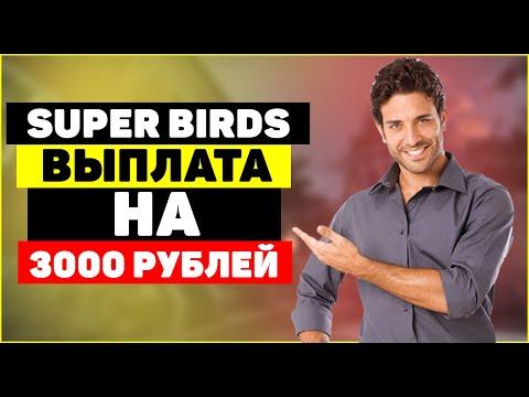 ИГРА С ВЫВОДОМ ДЕНЕГ БЕЗ ВЛОЖЕНИЙ И БЕЗ БАЛЛОВ - SUPER BIRDS ВЫПЛАТА 3000 РУБЛЕЙ