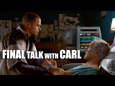 "Detroit Become Human - ""What Happens When"" Markus Visits Carl After Pushing Leo - Night Of The Soul"
