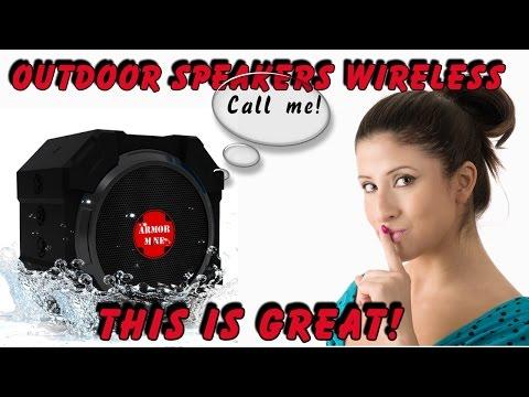Quality Outdoor Speakers Wireless On Amazon