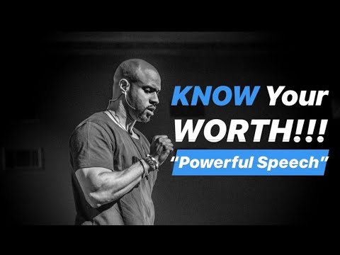 KNOW Your Worth Motivational Speech | Jeremy Anderson