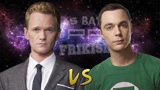 Barney Stinson vs Sheldon Cooper. Épicas Batallas de Rap del Frikismo | Keyblade ft. SoRa