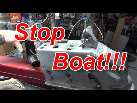 Boat Trailer Master Cylinder Replacement How to