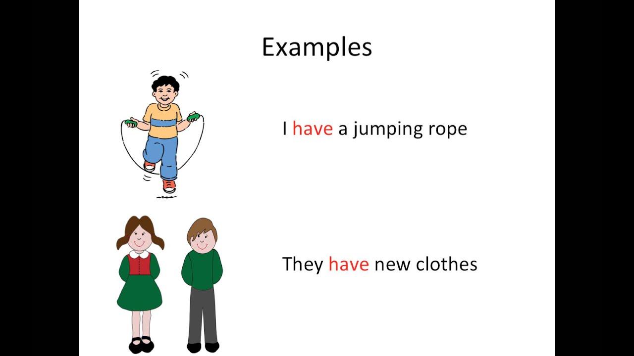 Grade 1 English Grammar