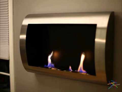 Anywhere Fireplace Chelsea Stainless Steel Indoor Fireplace! - Product Review Video