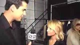 Nicole Richie Interview at the NY Olympus Fashion Week 2006 at Fashion News Live