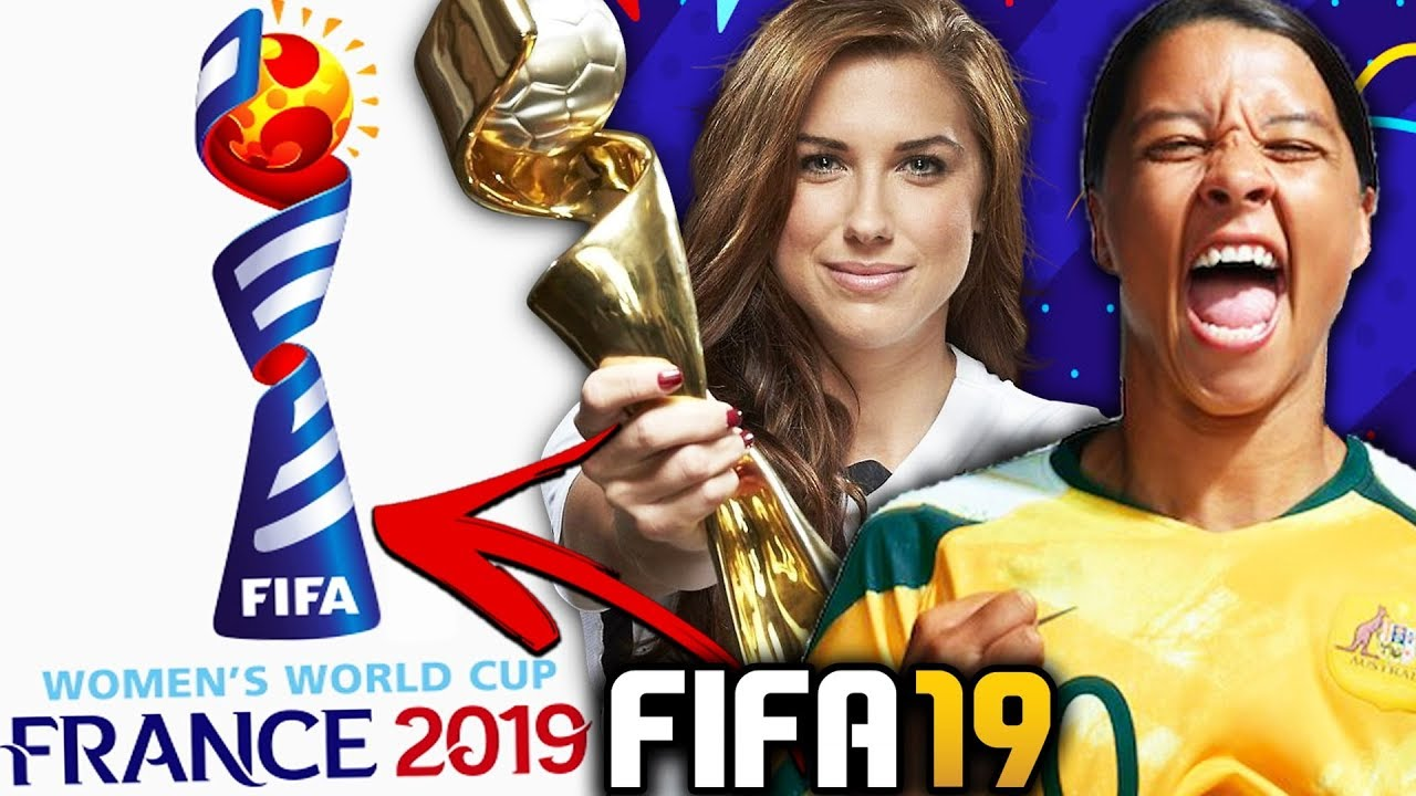 WOMEN'S WORLD CUP 2019 IN FIFA 19!!! - (New DLC Update)