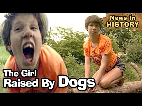 Girl Raised By Dogs Barks & Acts Like An Animal - News In Hi