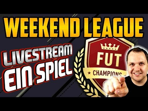 FUT 17 CHAMPIONS - Ein komplettes Spiel | WEEKEND LEAGUE!! - Lets Play #21