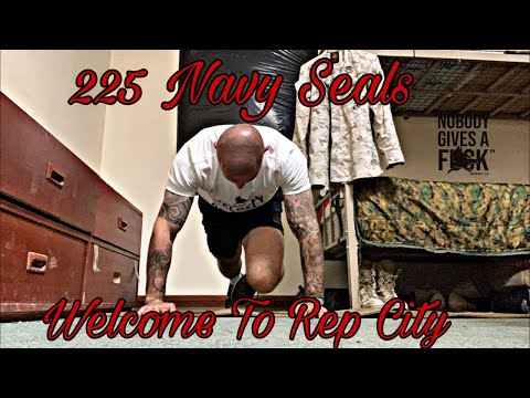 225 Navy Seal BurpeesLive Workout-Trip to Rep City