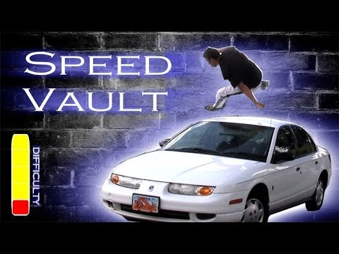 how to speed vault parkour tutorial youtube