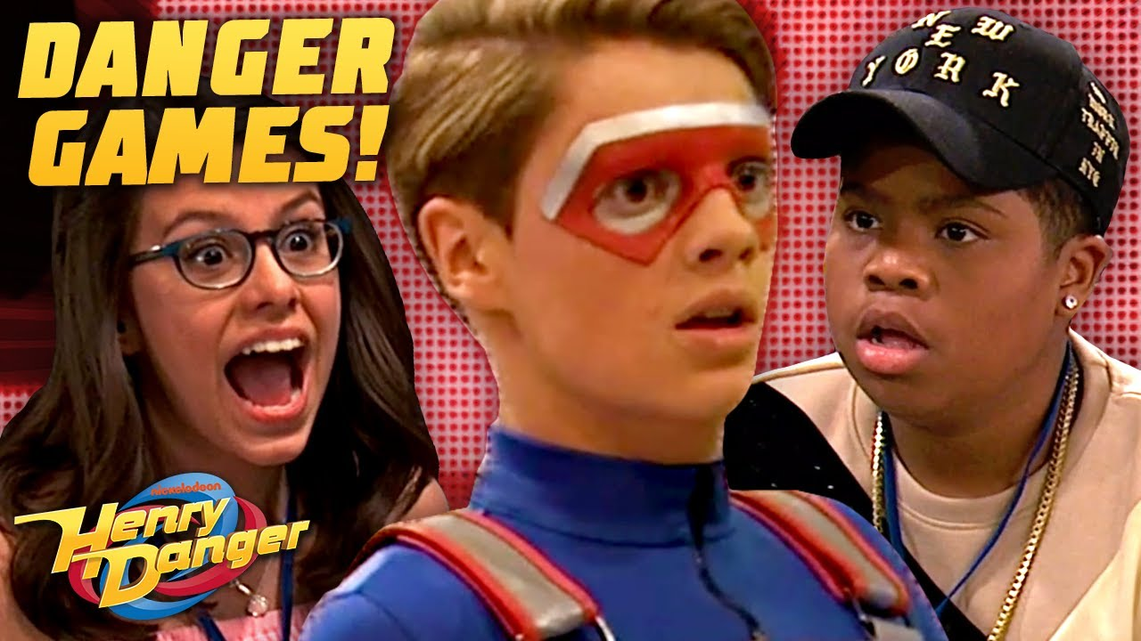The Game Shakers & Henry Rescue Double G! Danger Games | Henry Danger