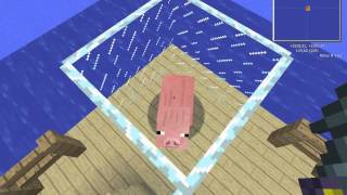 Minecraft Как простую свинью превратить в свинозомби