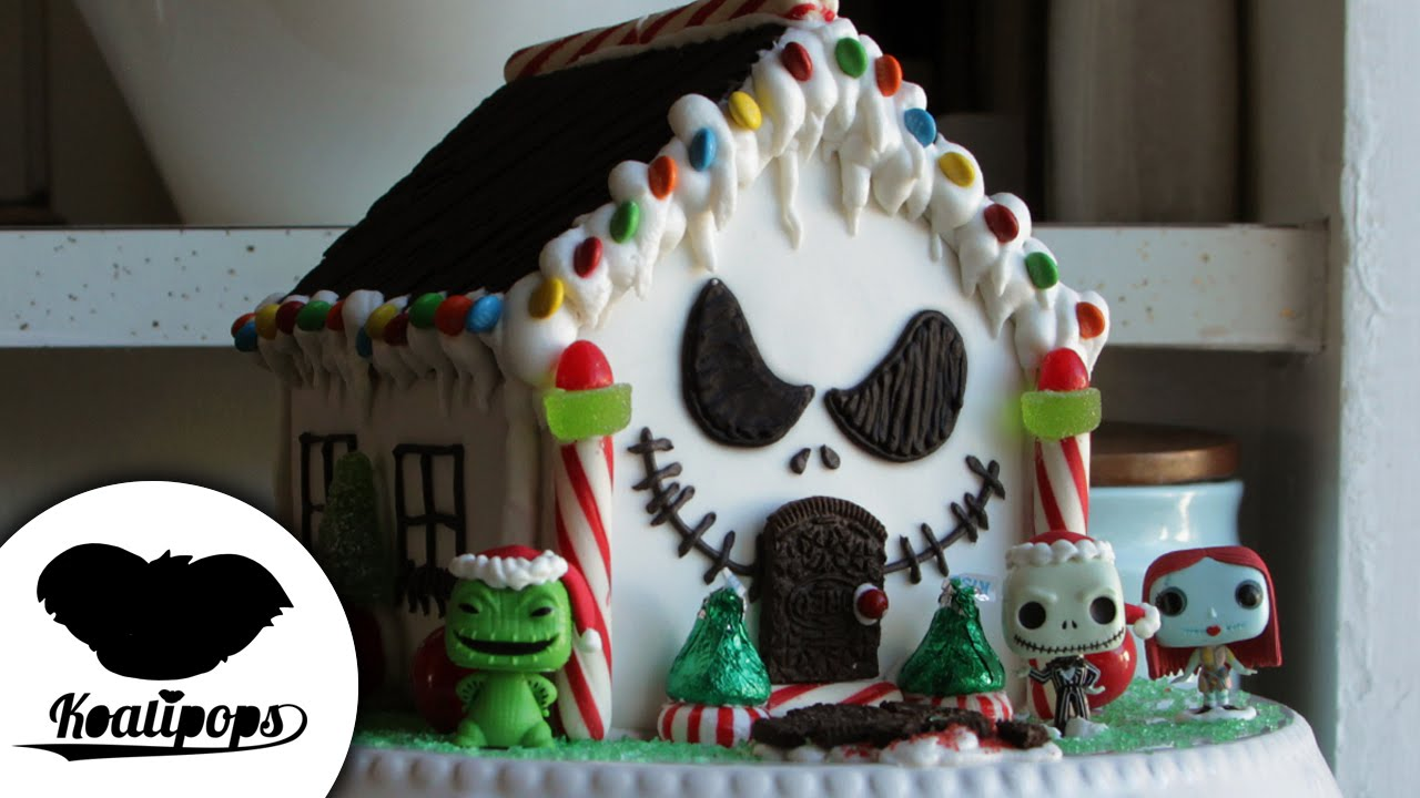 nightmare before christmas gingerbread house how to christmas youtube - Nightmare Before Christmas Gingerbread House