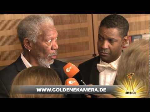 Interview mit Morgan Freeman und Denzel Washington - Goldene Kamera 2012