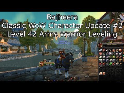 Bajheera - Classic WoW Level 42 Warrior Update: Gear, Talents, Addons & Macros! :D