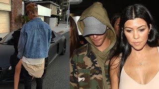 Justin Bieber Hooking Up With Kourtney Kardashian & Disses Scott Disick In New Instagram Pic?