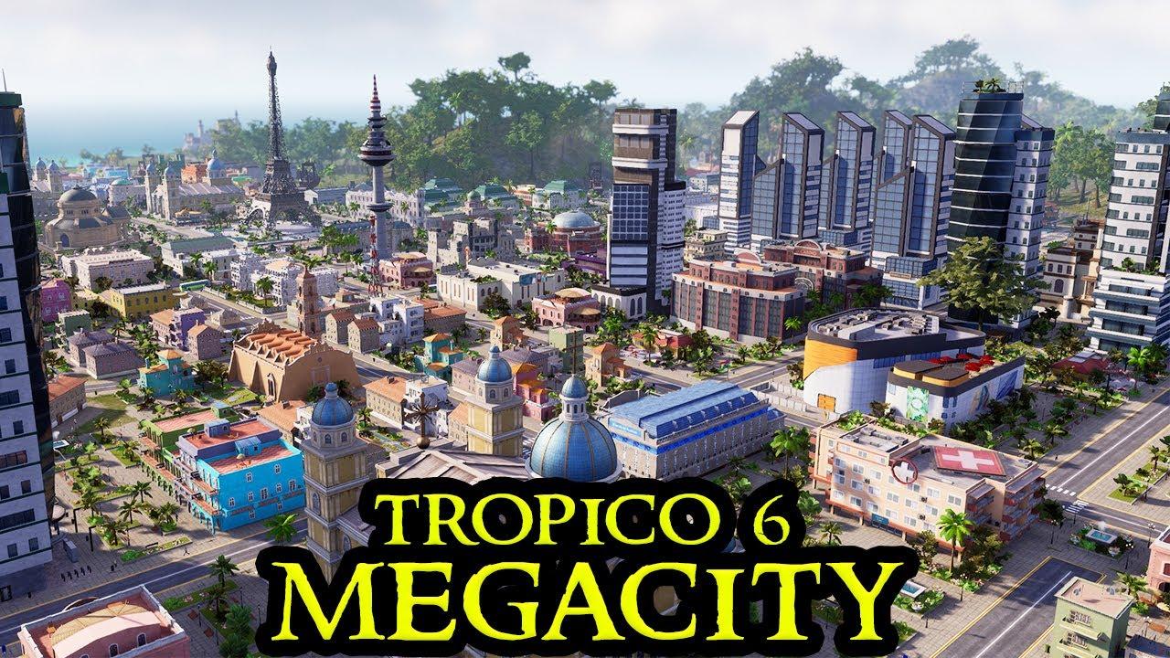 MASSIVE CITY - THE END - Tropico 6 MEGACITY #23 - Fresh Start City Builder ALL DLCs Strategy