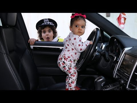 Police and little